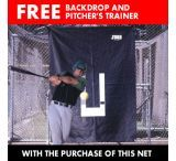 Jugs Sports No. 10 Batting Cage Net 119 Lb. - 59x16x12