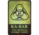 Ka-Bar Knives Original Zombie Knife Sign