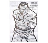 Kleen Bore Bad Guy Situation Target 100 Per Pack K-5