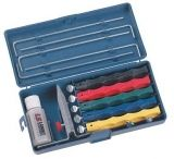 Lansky Sharpeners Deluxe Kit For Sharpening Knives LKCLX