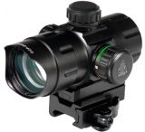 "Leapers UTG 5th Gen 4"" ITA Red/Green Dot Sight w/2 QD Mounts & Lens Caps"