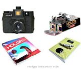 Lomography Color Flash Holga Camera Starter Kit 827, 829 - 120 Medium Format Film Camera w/ Color Flash