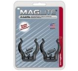 MagLite ASXD026 Mounting Brackets for MagLite D-Cell Flashlight