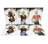 Marksman Zombie Style Paper Targets 3 Styles 2 ea