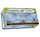 Microflex Diamond Grip Plus Latex Gloves, Microflex DGP-350-M