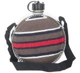 Mustang Blanket Covered 2 Qt Canteen