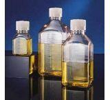 Nalge Nunc Square Media Bottles, PETG, Sterile, Graduated, NALGENE 2019-0060