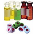 National Scientific Target Snap-It Crimp-Top/Snap-Cap Vials, National Scientific C4011-51B Caps Blue Snap-It Cap