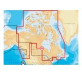 Navionics Gold Canada and Southeast Alaska Digital Marine Map