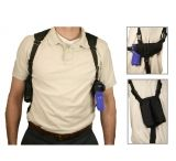 VISM Ambidextrous Shoulder Holster w/ Magazine Holder