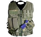 Leapers Deluxe Tactical Vest With Quick Draw Holster