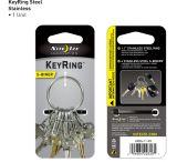 Nite Ize S-Biner KeyRing Steel