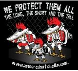 Nutshellz We Protect Them All T-Shirt, Small, Black
