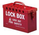 Brady 13 Lock Group Lock Box Blue 262-45190