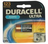 Duracell 3.0 Volt Lithium Photo Battery 243-DL123ABPK
