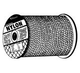 Hooven Allison LLC. Rope 1/4x500ft Solid Braid Ny 811-10128