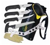 Outdoor Edge BL1 BUTCHER LITE KIT Knife Set 420 Stainless 8 Piece Set Blade