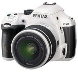 Pentax K-50 Digital SLR Camera with 18-135 WR Lens