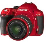 Pentax K-50 Digial SLR Camera with L18-55 WR Lens