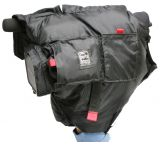 PortaBrace POL-MVX200/XH Polar Mitten Heated Insulated Mini-DV Camera Case - Black