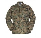 Propper Genuine Gear BDU 4-Pocket Coat, 60/40 Cotton/Poly Ripstop