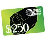 OpticsPlanet.com Email Gift Certificate $250