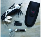 Real Avid The Gun Tool Plus Shooters Multi-Tool w/ Bore Light & Sheath