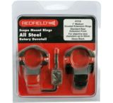 Redfield Mounts 1 inch Rotary Dovetail Steel Rings