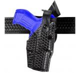 Safariland 6360 ALS Level III w/ Ride UBL Holster - STX Black, Left Hand 6360-483-132