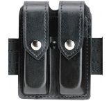 Safariland 77 Double Handgun Magazine Pouch - Basket Black, Ambidextrous 77-76-4