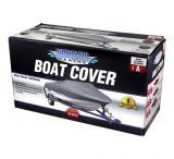 Shoreline Marine Water Sports Gear Boat Cover Silver Polyurethane