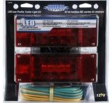 Shoreline Marine LED Low Profile Trailer Light Kit