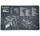 Slip 2000 Blueprint Gun Cleaning Mat 11x17 Inches For Springfield XDM MAT-XDM