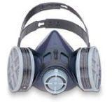 Honeywell 1/2 Mask Premier T-SER Elas Lg 313000