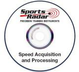 Sports Radar Detector / Radar Gun PC CD-ROM w/ Speed Acquisition Software DET-PC-01