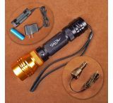 Stone River Gear Adjustable Focusing Rechargeable Flashlight 500 Lumens High Beam