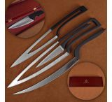 Stone River Gear New Age 4pc Kitchen Cutlery Set w/ Storage Box