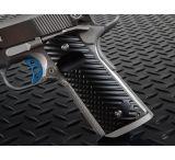 Strike Industries Polymer Extreme Slim CNC 1911 Pistol Grip - Diamond Cutter Texture