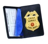 Strong Leather Company - Badge Case Side Open