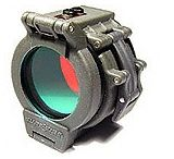 "SureFire FM35 Red Filter for flashlights with 1.25"" diameter bezel (Z2, C2, C3, G2Z, G2, 6P, 9P )"