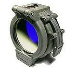 "Sure-Fire FM36 Blue Beamfilter for 1.5"" Bezel (Z2, C2, C3, G2Z, G2, 6P, 9P Flashlights )"