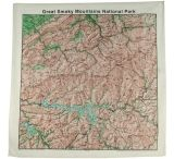 The Printed Image Topographic Map Bandanas