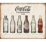 Tin Signs Coke Bottle Evolution Tin Sign