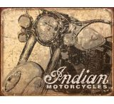 Tin Signs Indian Antiqued Tin Sign