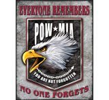 Tin Signs Legends POW-MIA Eagle Tin Sign