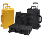 T.Z.Case Cape Buffalo Waterproof Molded Utility Case 22x14x9, Black