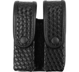 Uncle Mike's Large Frame Mirage Black Glock 10mm/.45/.45 HK Double Case Magazine Pouch