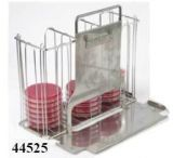 UNICO Petri Dish Dual Rack Caddy 44525
