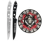 United Cutlery Hawg Neon Target and Throwing Knife Set