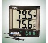 VWR Big Digit Four-Alert Alarm Thermometer 4143 Four-Alert Alarm Thermometer, °F
